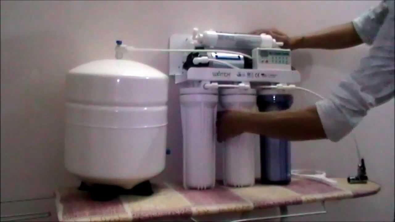 Sửa máy lọc nước Htech tại nhà